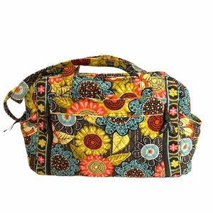 Vera Bradley Flower Shower Baby Diaper bag